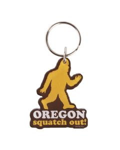 """Hunting for the legendary Sasquatch, or """"squatching"""" as the pros call it, requires very specialized gear. We suggest starting and stopping your vehicle with a key attached to this high-performance keychain. Honk, if you're ready to totally squatch out! <"""
