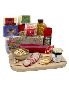 Hometown favorites Cheese Gourmet Gift Basket