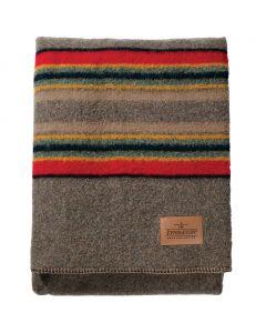 Pendleton Yakima Camp Mineral Umber Blanket, Queen