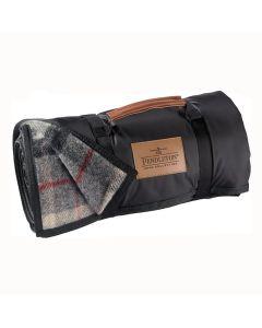 Pendleton Black Butte Plaid Roll-Up Blanket