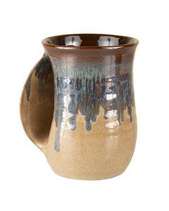 Clay In Motion Mudslide Handwarmer Mug, Left Hand
