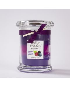Oregon Berry Layer Candle, Jenteal Soaps 7oz
