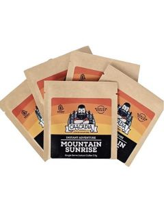 Cascadia Roasters Mountain Sunrise Single Serve Instant Coffee