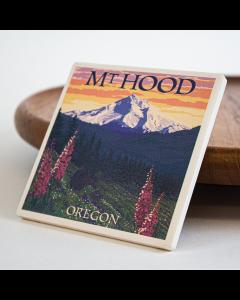 Mt Hood Flower Coaster