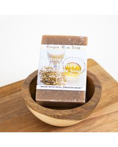 Oatmeal, Milk & Honey Soap: Oregon Rain Soap