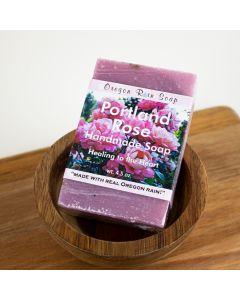 Portland Rose Soap, Oregon Rain Soap