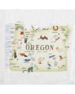 Crosby and Taylor Commemorative Oregon Tea Towel