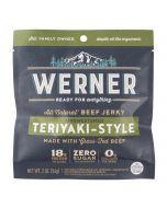Werner Teriyaki-Style Beef Jerky 2oz