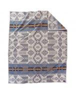 Pendleton Silver Bark Wool Blanket, Queen